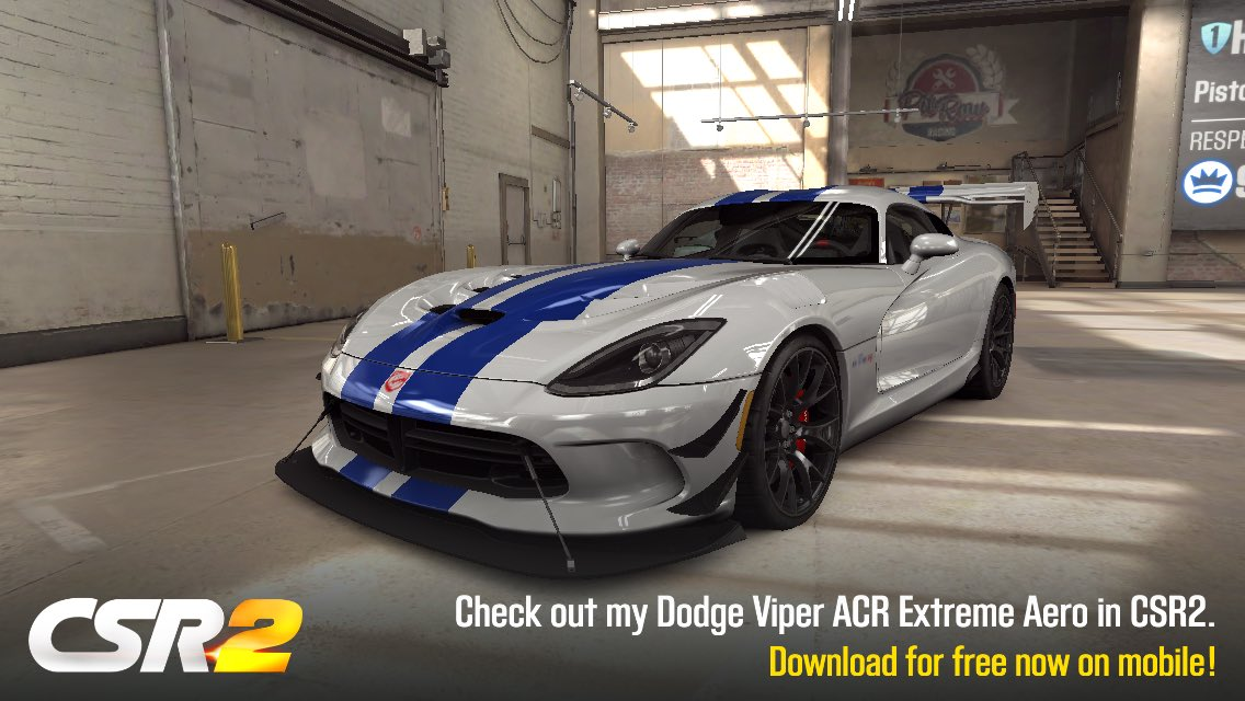Dodge Viper Acr Extreme Aero Tune Shift Pattern S5 S6 Csr2boss